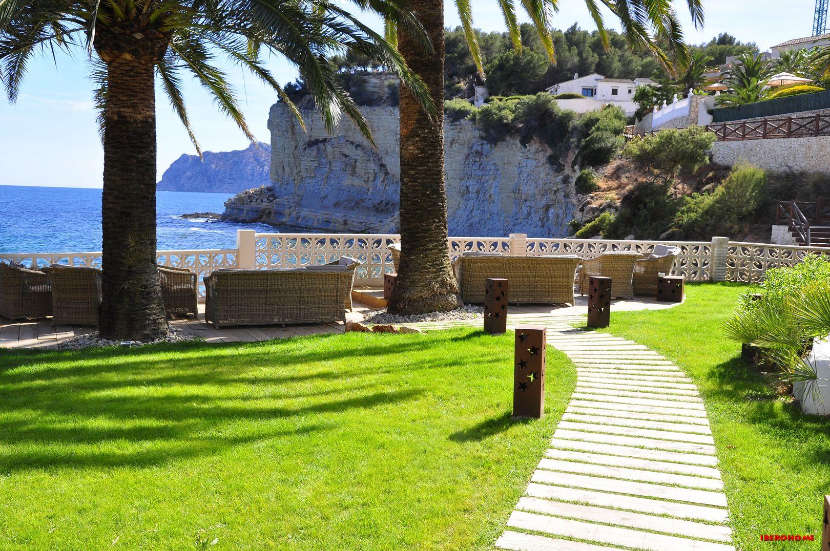 Garten La Paillotte in der Cala Advocat