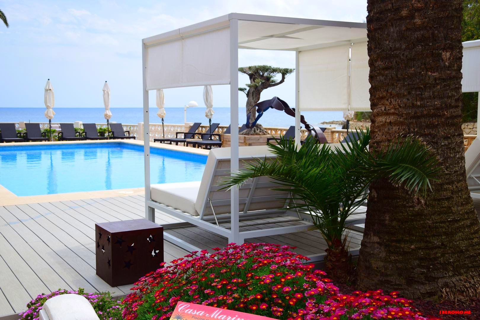 Poolanlage des Hotels Casa Marina Suites