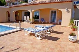 Villa mit Meerblick in Moraira Objektansicht